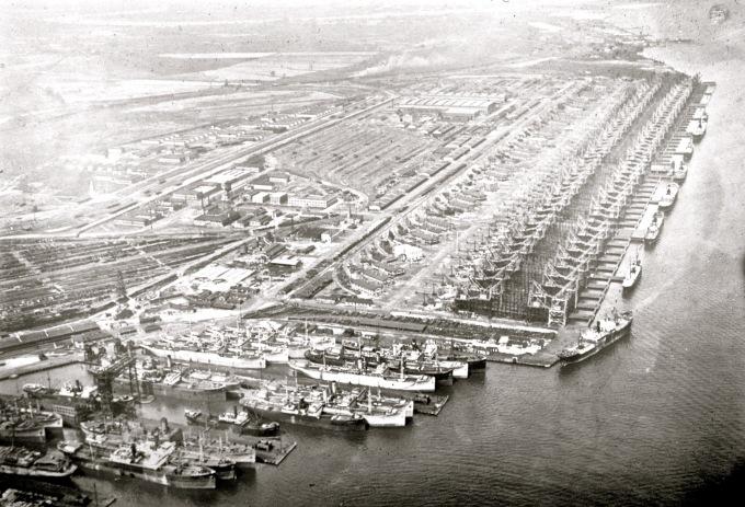 Hogg Island Shipyards